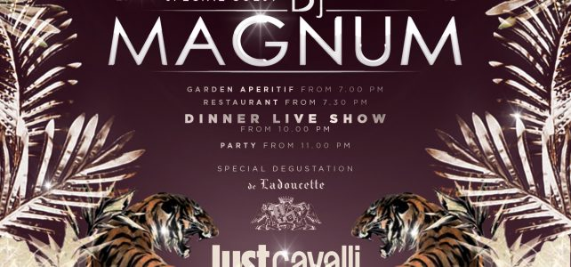 Just Cavalli Milano: 31/05/2017  Dee-Jay Magnum Special Guest