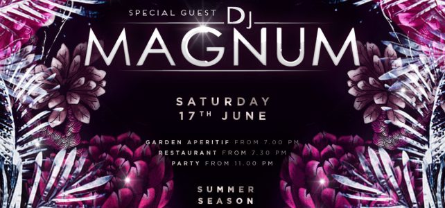 "Just Cavalli Milano: 17/06/2017 ""Justdance with Dj Magnum"""