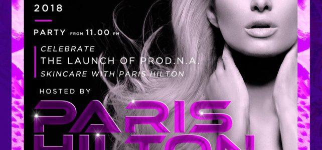 Just Cavalli Milano: 20/10/2018  Paris Hilton Special Guest