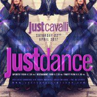 "Just Cavalli Milano: sab. 22/04/2017 ""Just Dance"""